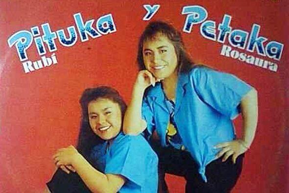 """""""Pituka"""" y """"Petaka"""" integraban este talentoso elenco."""