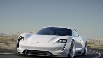 Imágenes del Porsche Mission E Concept