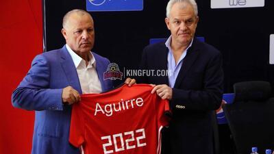 Javier Aguirre fue presentado oficialmente como técnico de Egipto