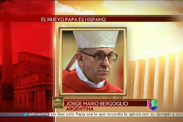 Bergoglio ha disminuido un poco su actividad con la edad y está sintiend...