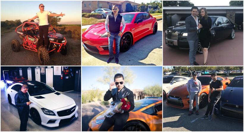 Larry Hernández es un gran amante de los vehículos, y su c...