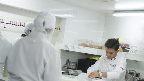 Juan Manuel Barrientos has restaurants in Bogota, Medellin and Miami.
