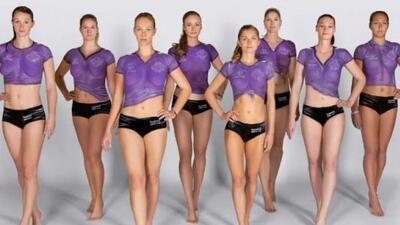 De izquierda a derecha, Claudia Steger, Martina Jelinkove, Lia-Tabea Mer...