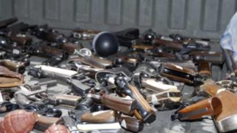 El acopio de armas lleva varios meses que se realiza en México.