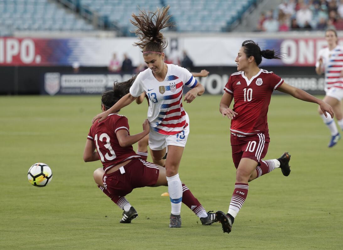 En fotos: Team USA impuso experiencia y venció a México en amistoso de f...