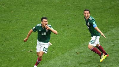 En fotos: las calificaciones hombre a hombre de México ante Alemania