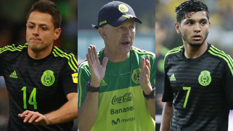 Osorio quiere a 'Chicharito' y 'Tecatito'
