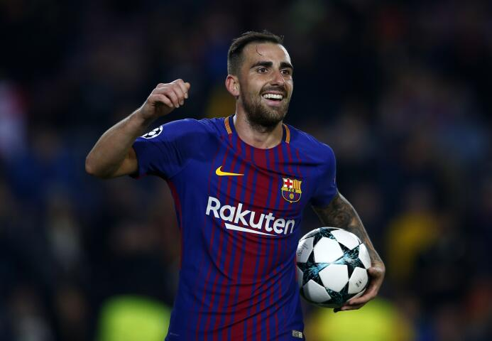 Con 336 puntos, Paco Alcácer ha logrado marcar dos goles y poner dos asi...