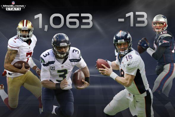 4 Quarterbacks corredores: En esta temporada, Russell Wilson y Colin Kae...