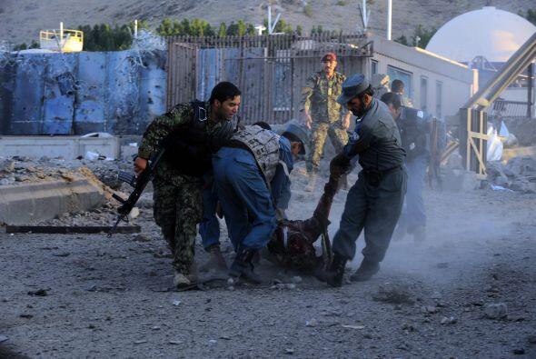 Los extremistas se enfrascaron en un tiroteo con las fuerzas militares q...
