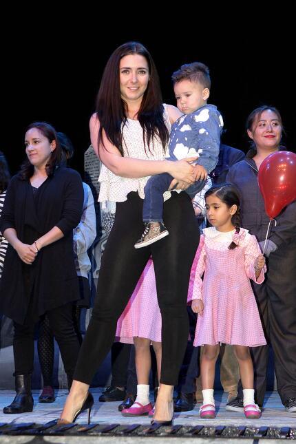 Ariadne Díaz se fue al teatro con Diego y él está enorme
