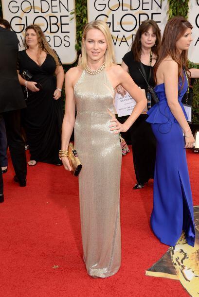 Sin palabras nos dejó la bella actriz Naomi Watts en un vestido de Tom F...