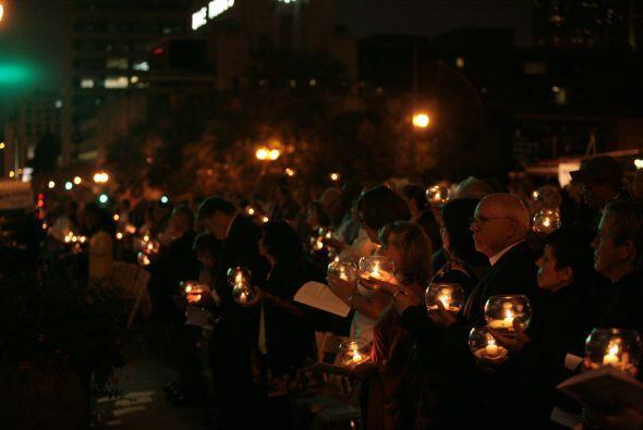 El evento fue desarrollado por el Concejo de Líderes Religiosos y contó...