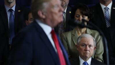 """No tengo fiscal general"": Trump ataca de nuevo a Jeff Sessions"