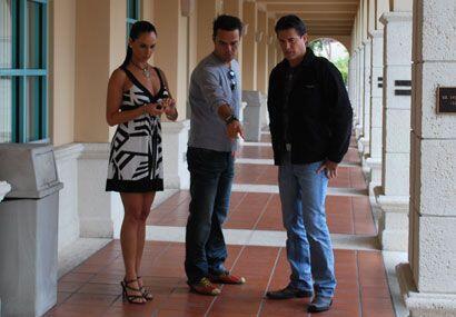 En las pasadas audiciones de Nuestra Belleza Latina en Miami, Jorge Arav...