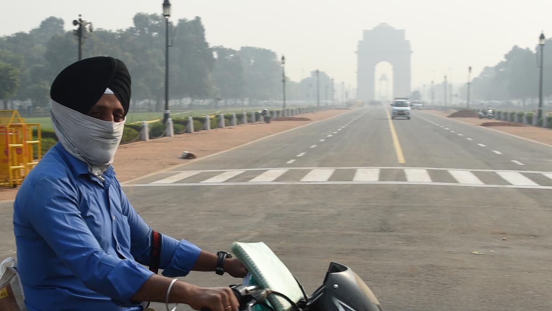 Las grandes ciudades indias, como Nueva Delhi, están teniendo que lidiar...