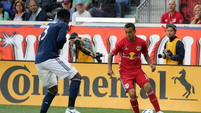 'Kaku' Gamarra le sirve en bandeja de plata su gol 99 a BWP para el jaque mate de NYRB sobre Revs