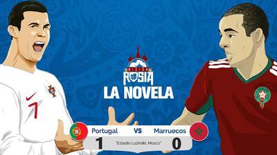 La Novela: Ronaldo y el desaparecido VAR eliminan a Marruecos del Mundial