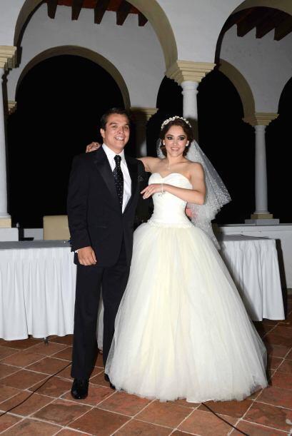 La actriz y el político ya habían contraído matrimonio ante un juez el a...