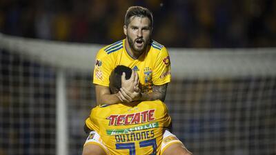 ¡Oh la la! Con estos goles, Gignac se acerca a la historia y es líder de goleo del A2018