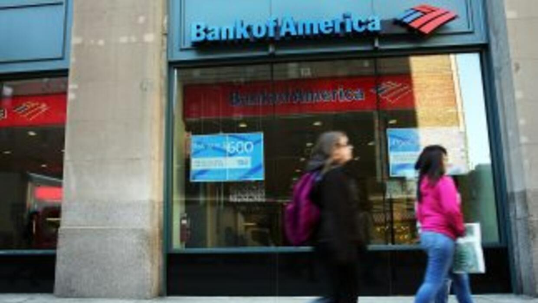Sucursal del Bank of America.