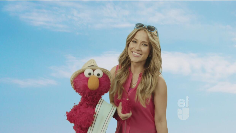 Elmo y Jackie Guerrido ¡se van a la playa!