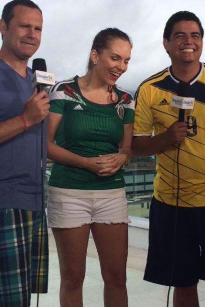 El rostro de esta joven periodista venezolana le dio la vuelta al mundo...