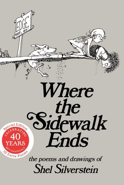 WHERE THE SIDEWALK ENDS: POEMS AND DRAWINGS - Te encontrarás con un niño...