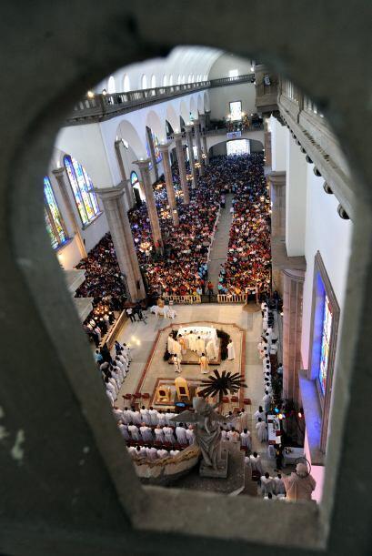 El 75 por ciento de los 8 millones de hondureños es católico.