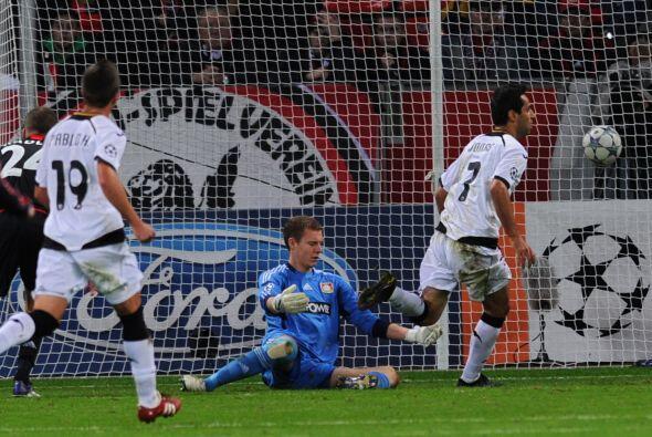 Valencia sorprendió de entrada al Bayer Leverkusen con un gol de Jonas G...
