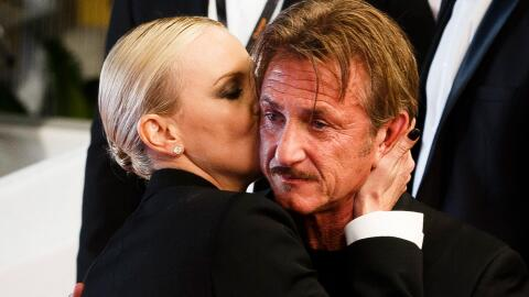 Sean Penn y Charlize Theron en Cannes