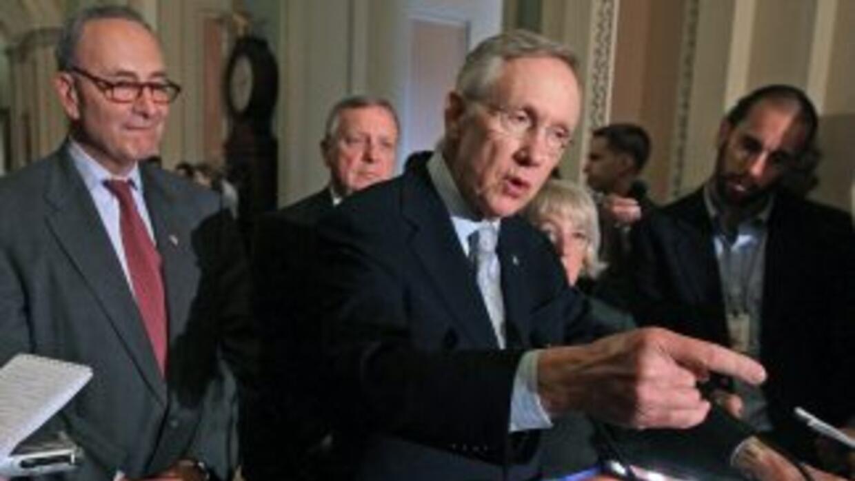 El líder de la mayoría en el Senado, el demócrata Harry Reid, había dese...
