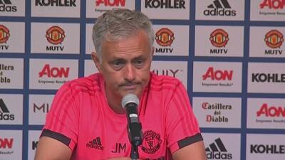 Mourinho lamentó las ausencias de Sánchez y otras figuras para la gira de Manchester United en EEUU