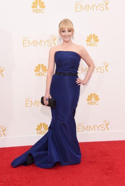 Melissa Rauch tiene mucho estilo y sentido de la moda. Su vestido Pamell...