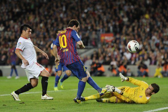 Fecha 9: Barcelona confiaba en sumar tres valiosas unidades ante el Sevi...