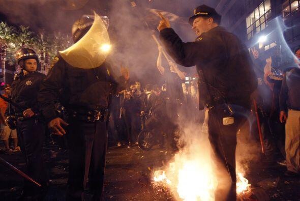 San Francisco celebró hasta altas horas de la noche el título de los Gia...