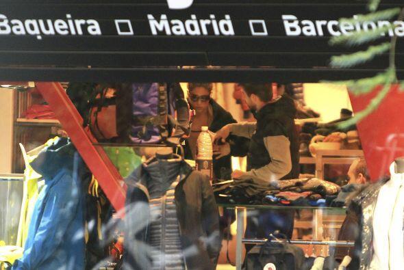 La tienda ubicada en Barcelona cerró sus puertas para que el par de famo...