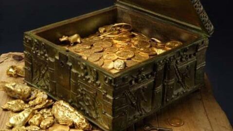 Imgen del tesoro que el millonario Forrest Fenn ocultó y que tien...