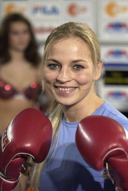 La boxeadora alemana Regina Halmich se encargó de popularizar el pugilis...