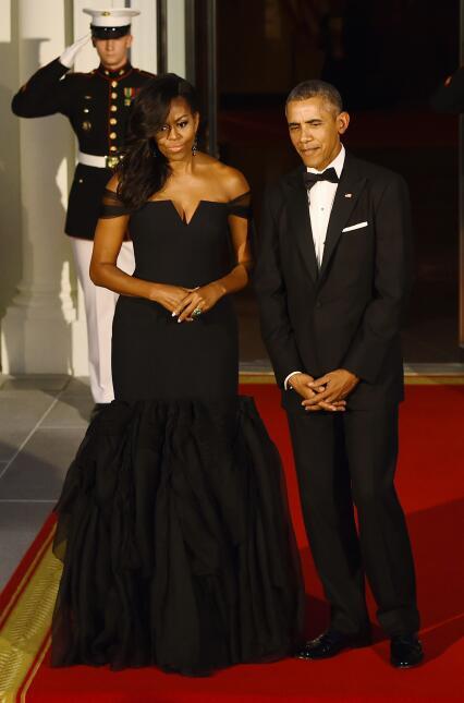 10 momentos de la moda de Michelle Obama GettyImages-490116358.jpg