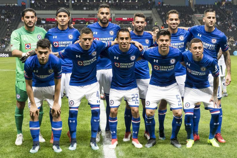 Monterrey y Cruz Azul empatan 2-2 en partido del Clausura 2018 de la Lig...