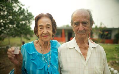 Graciela Herrón y Arnulfo Herrera.