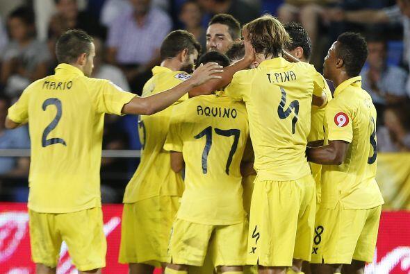 No obstante el Villarreal empató por conducto de Giovani dos Santos quie...
