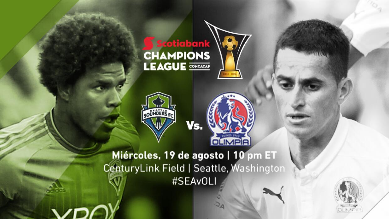 Seattle Sounders vs. Olimpia