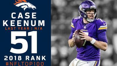 #51 Case Keenum (QB, Broncos) | Top 100 Jugadores NFL 2018