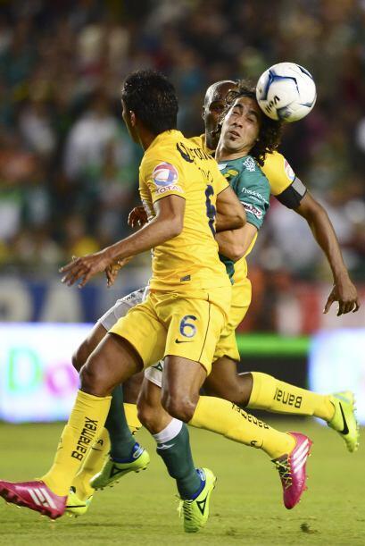 El partido fue intenso de principio a fin, León y América salieron a ofe...