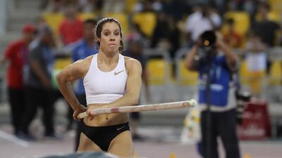 Katerina Stefanidi, la atleta que deslumbra en la Liga Diamante