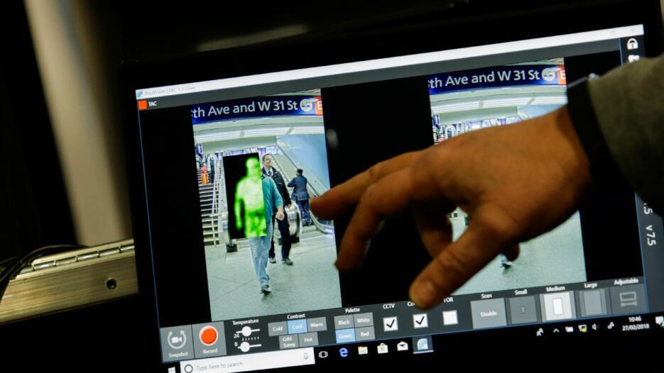 Las autoridades están probando en Penn Station esta tecnología que permi...