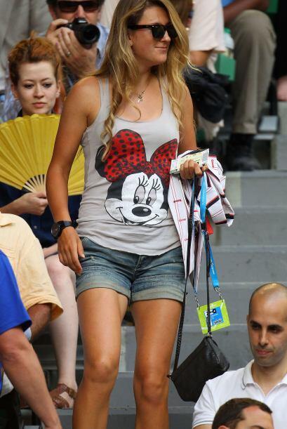 La bella Victoria Azarenka, campeona el sábado de la final femenil ante...