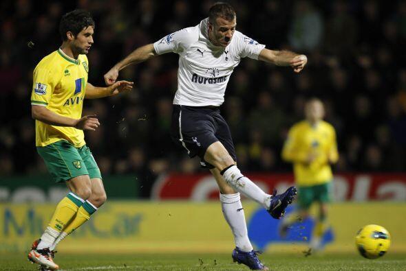 Más tarde, el Tottenham se midió con el Norwich City.